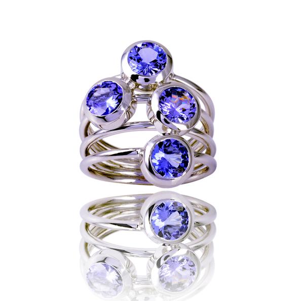 Ring Nr.4 Tanzanite ring nr 4 tanzanites